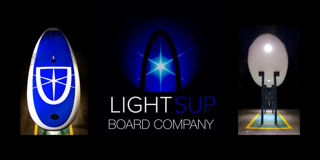 LightSUP GlowLight Paddle Board