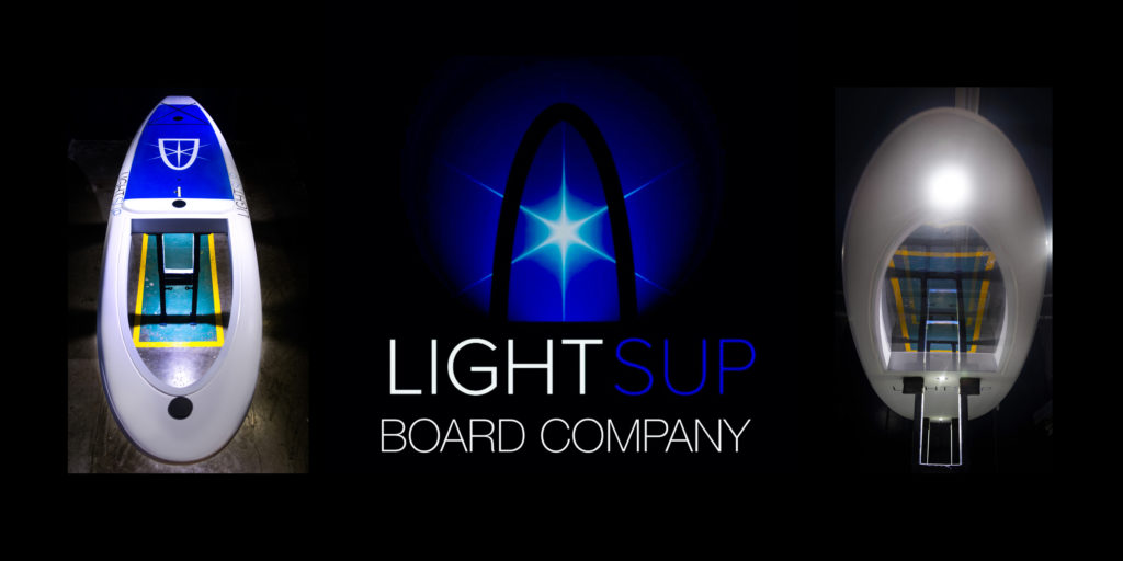 LightSUP NightLight Paddle Board